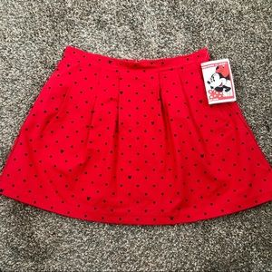 Oh my Disney! Minnie Mouse skirt